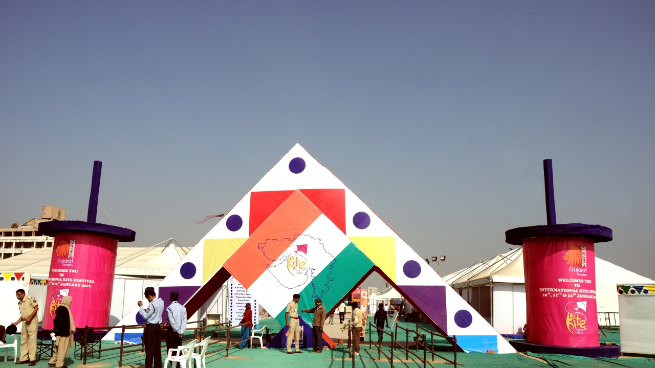 Vibrant Gujarat International Kite Festival