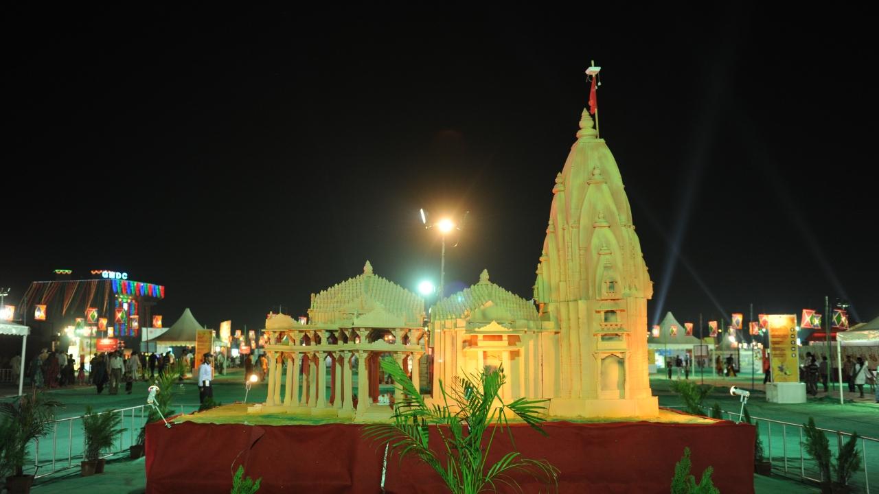 Vibrant Gujarat Navratri Festival